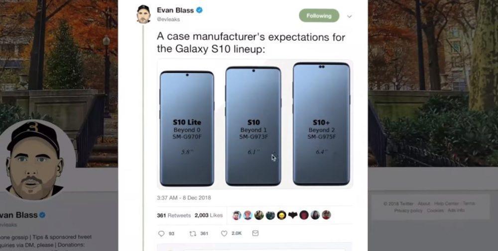 Samsung Galaxy S10: дата выхода, характеристики и другое!