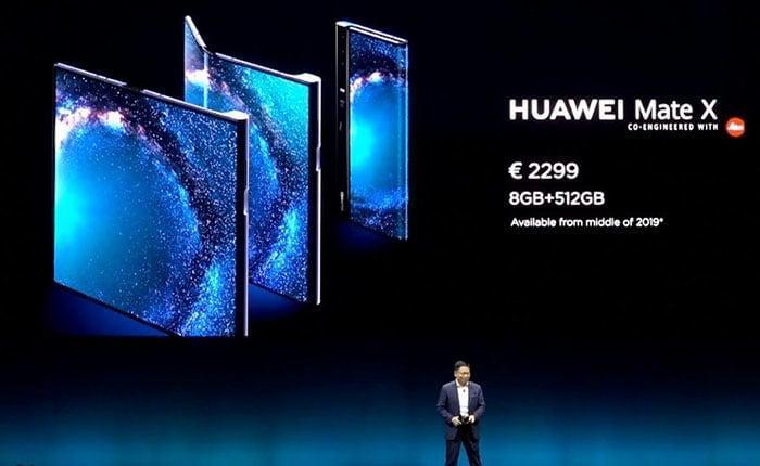 Сравнение складных смартфонов: Huawei Mate X против Samsung Galaxy Fold