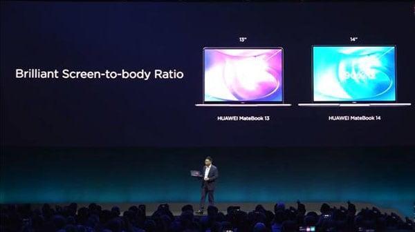 Выпущены новые MateBook X Pro и MateBook 14 от Huawei