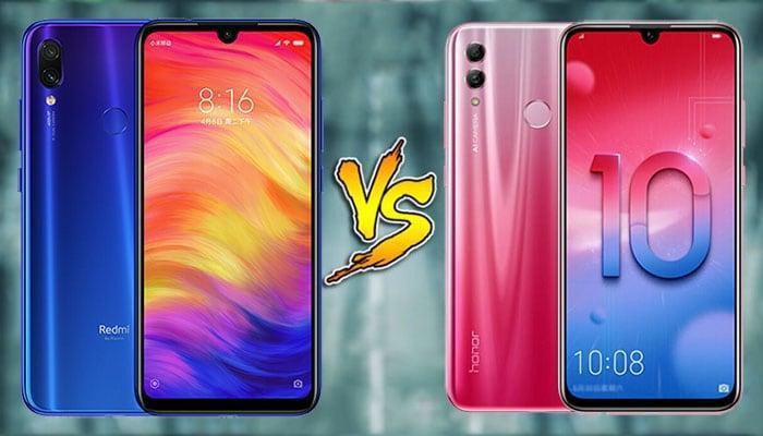 Xiaomi Redmi Note 7 против Honor 10 Lite: что лучше?
