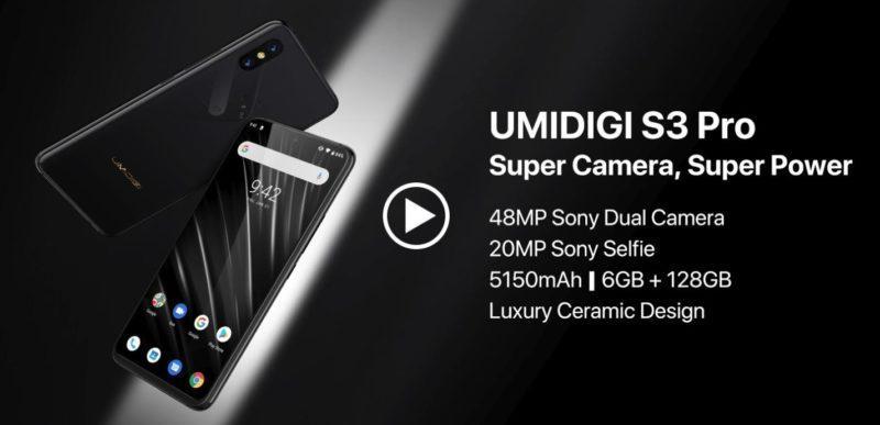 UMIDIGI S3 PRO - полная альтернатива HUAWEI P30 но дешевле по цене в 3 раза