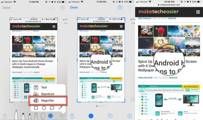 11 полезных советов для iOS 11: новые возможности работы со скриншотами