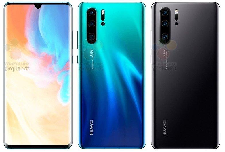 P30 и P30 Pro: новая информация о смартфонах Huawei
