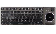 Corsair представляет беспроводную мультимедиа развлекательную клавиатуру K83
