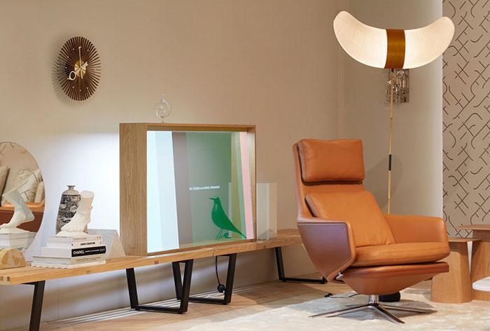 Panasonic демонстрирует прозрачную концепцию OLED-телевизора