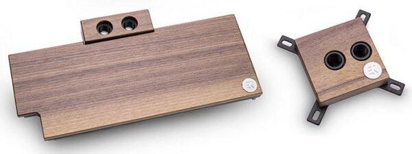 HP и EKWB добавляют к оформлению материалы из дерева