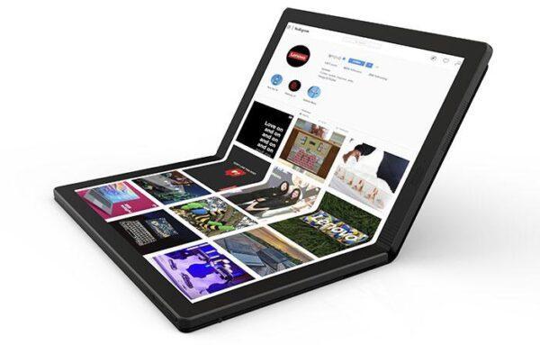 Lenovo представляет первый в мире складной ПК - что стало известно