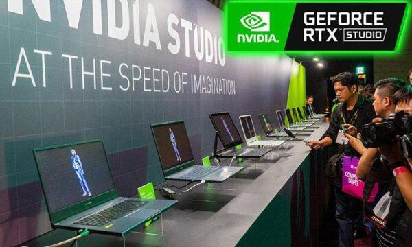 Представлены сертифицированные ноутбуки Nvidia Studio