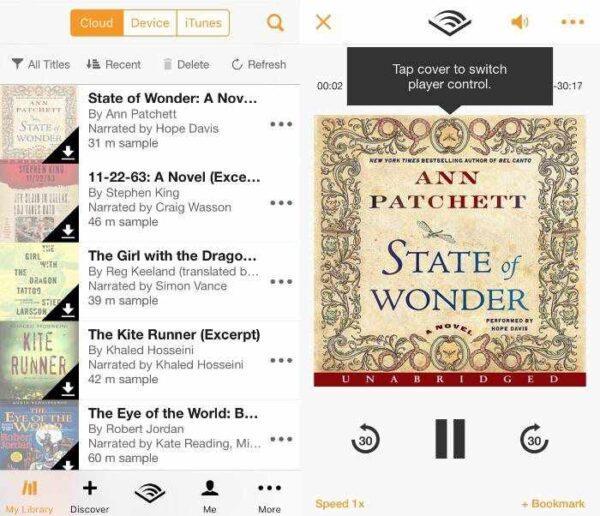 Различные способы воспроизведения аудиокниг на устройствах iOS