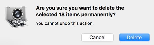 Как удалить все фотографии на вашем iPhone с помощью Mac