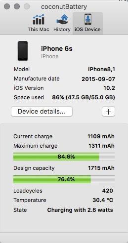 Как запустить диагностику батареи iPhone на Mac