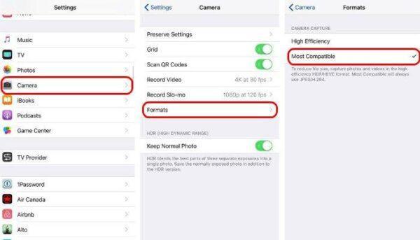 Как заставить ваш iPhone использовать JPG и MP4 вместо HEIF и HEVC
