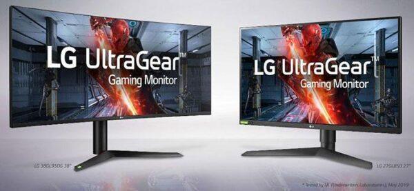LG выпустили игровые мониторы UltraGear Nano IPS 1ms GtG