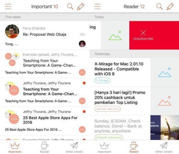 Восемь альтернатив почтовому почтовому приложению на iOS