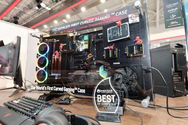 MSI показали первый в мире изогнутый корпус для игрового ПК