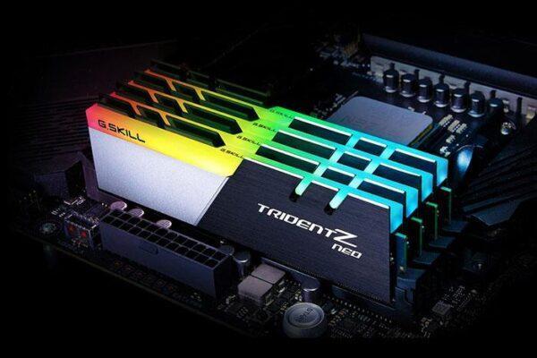 Оперативная память G.Skill Trident Z Neo DDR4 оптимизирована для серии Ryzen 3000