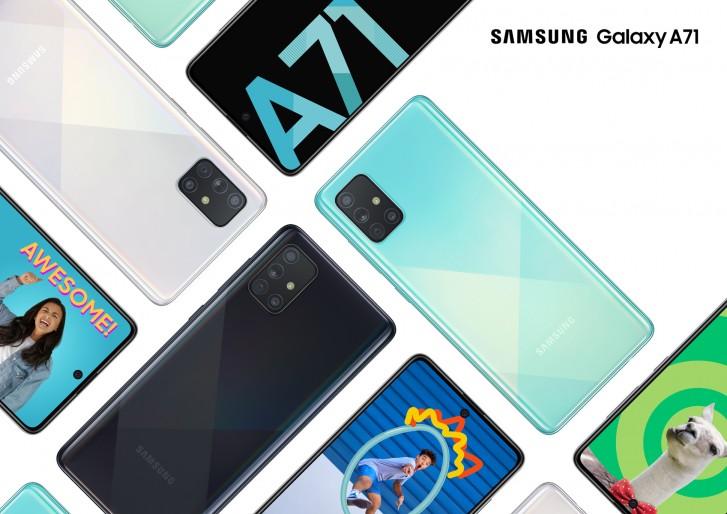 Еженедельный опрос: Samsung Galaxy A51 и Galaxy A71