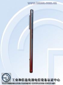 Oppo Reno3 5G, обратите внимание на другую цветовую гамму (фото TENAA)