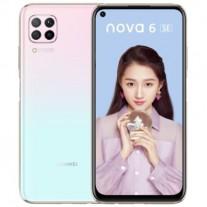 Huawei nova 6 SE в цвете Снежное небо
