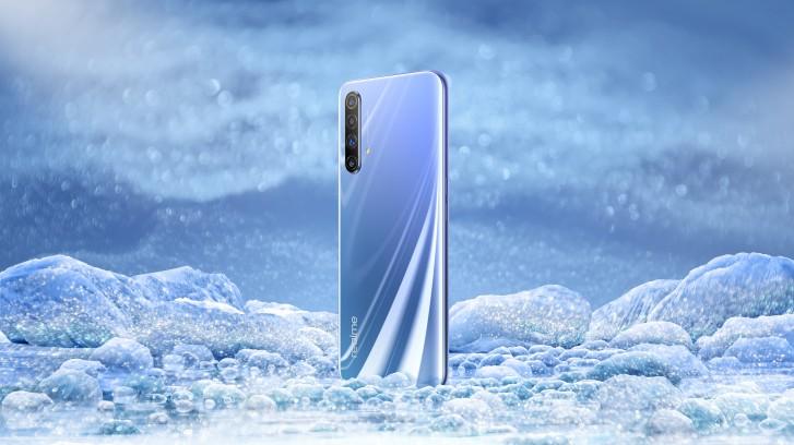 Раскрыт дизайн Realme X50 5G, изображение в режиме реального времени подтверждает боковой сканер отпечатков пальцев