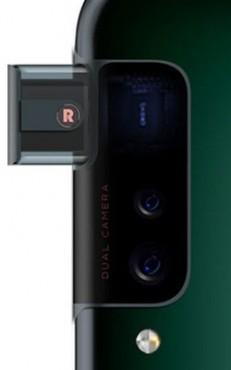 Oppo боковой дизайн всплывающего кулачка
