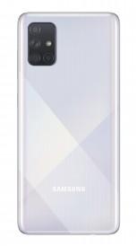 Samsung Galaxy A71 в серебристом цвете