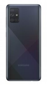 Samsung Galaxy A71 в цвете черный