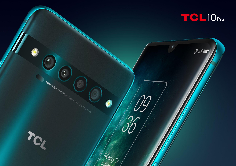 Серия TCL 10: четыре камеры, поддержка 5G и тонкие рамки, менее чем за 30 000 рублей