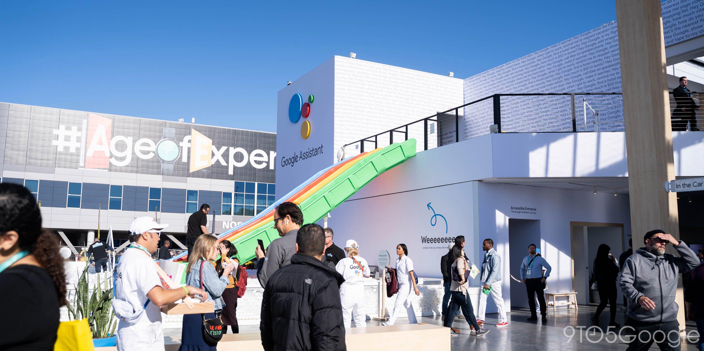 Все о стенде Google на CES 2020