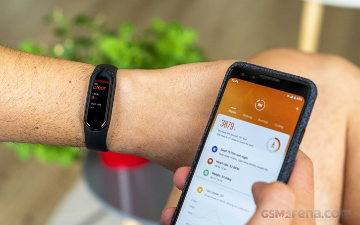 Xiaomi Mi Band 5 с 1,2-дюймовым дисплеем и NFC на глобальных устройствах