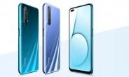 Realme X50 5G поставляется с 120 Гц дисплеем, настроенным ColorOS