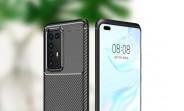 На снимках корпуса Huawei P40 Pro изображена пятиугольная камера сзади, плоский экран спереди