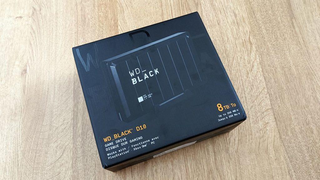 Обзор жесткого диска WD Black D10 8 ТБ