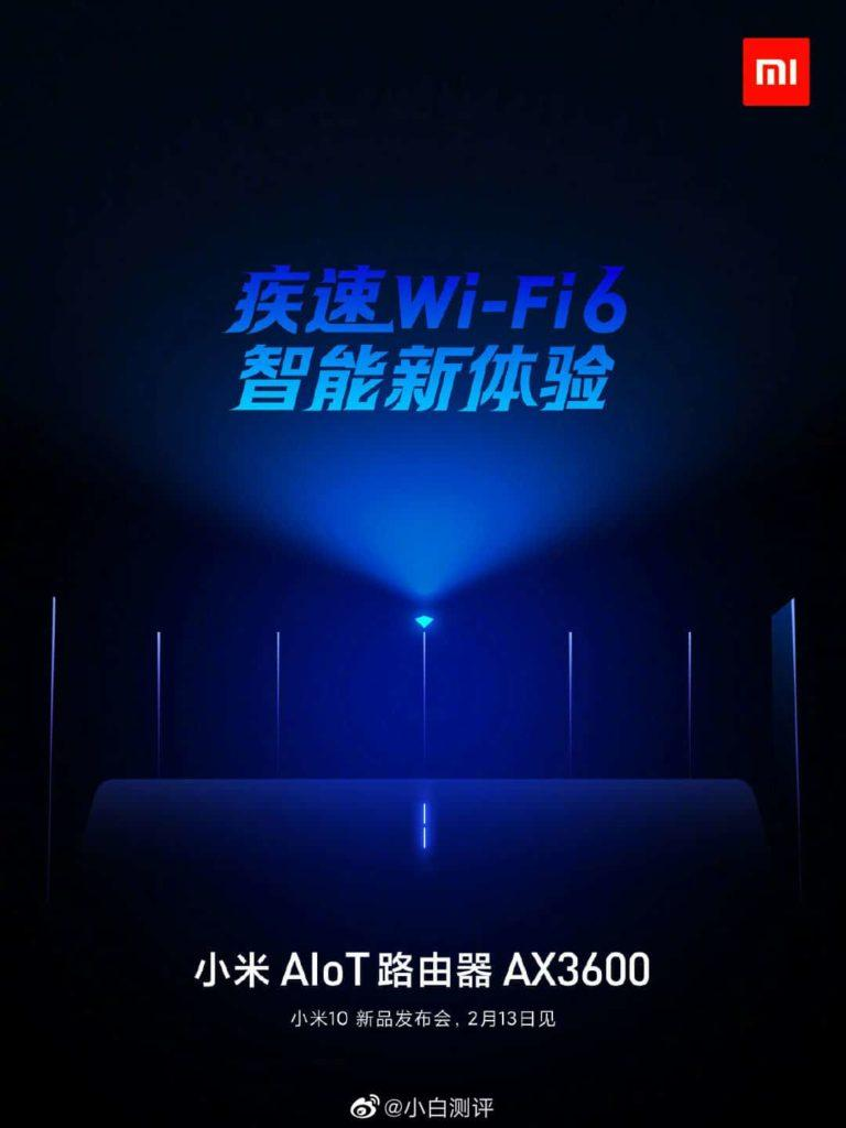Wi-Fi 6 роутер Xiaomi AX3600 уже близко